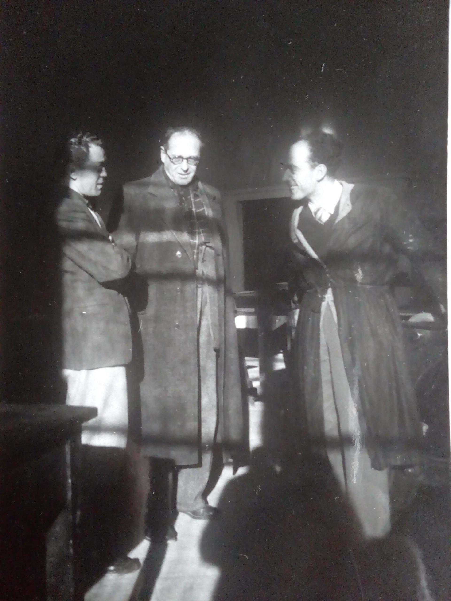 Carlo Ceci, Leonardo Castellani e Renato Bruscaglia